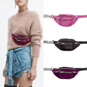 Brand Fanny Packs Velvet Waist Bag Money Phone Pouch Zipper Leg Chest Bag Women Men Messenger Belt Bags Purses Small Bags