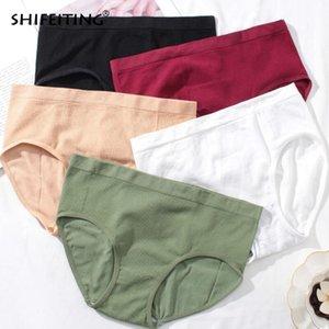 Sexy para algodón de alta calidad para mujeres bragas sin costura Spandex lencería ropa interior negro blanco