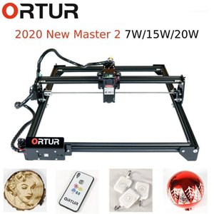 2020 Hotselling Frame Structure Ortur Laser Master 2 15W Engraving Machine EU US plug V1.34 Firmware Adjustbale Pixel Accuracy1