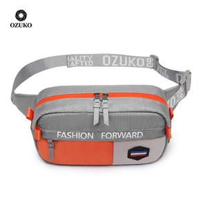 Men Fashion Leisure Waist Pack Fanny Purse Light Sport Belt Bag Chest Boys Girls Women Travel Shoulder Running Hand Bags