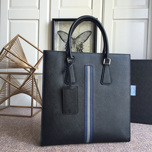 7A Productos personalizados de alta gama La bolsa de los nuevos hombres es Black Fashion Bags 083175 Original Single Product, Complejo Bolsas de moda Horquial