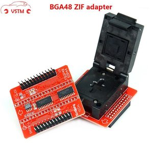 En iyi kalite BGA48 adaptörü ile 1.8 V TSOP48 BGA63 NAND TL8666II Artı TL866A TL866CS Flash Programcı için Boad