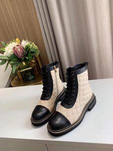 Xobzjh Donne Stivali da donna 2020 Scarpe moda per le donne Platform Black Boots Designer di lusso Brand Pelle Genuine Leather Handmade Winter Shoes