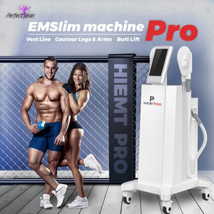 2020 Two Heads Últimas EMS HIEMT Electro Muscle Magnetic Stimulation Fat Burning Ultrashape Ems moldar o corpo do dispositivo