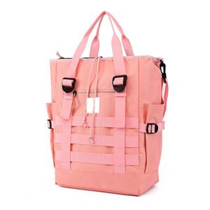 Multi-function Sports Travel Bag Nylon Beach Tote Bag Fashion Womens Handbag Tote Oxford Shoulder Bags Dumplings Folding Shopping Bag 2021