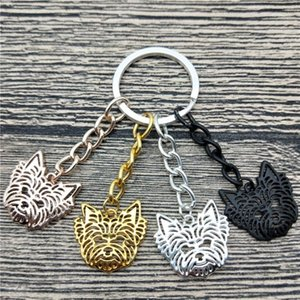 New Yorkshire Terrier Key Chains Fashion Pet Dog Jewellery Trendy Yorkshire Terrier Car Keychain Bag Keyring For Women Men1