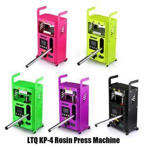 Authentique KP4 Rosin Machine de presse par LTQ vapeur KP4 Wax DAB squeezer température réglable outil Extracting Avec 4 Kit Presser tonnes