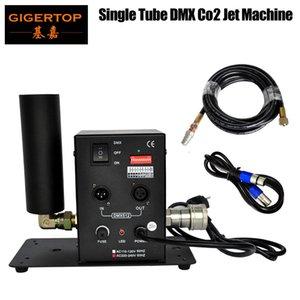 호스 단일 파이프 이산화탄소 기계 제트 DMX LED 무대 효과 기계 DMX 이산화탄소 제트 무대 조명 6m 샘플 Tp를 -T27 단일 튜브 이산화탄소와 기계
