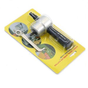 Kesme -Levha Mutfak -Araçlar -Cutter Testere -Attachment Nibble Çift -Merkez Metal Malzemeleri Matkap
