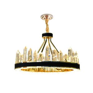 New Design Luxury Chandelier Lighting Fixtures Luxurious Led Lustre Hang Lamp for Living Room Hotel Home Decor Chandeliers