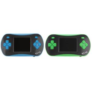 2 Pezzi RS-16 2.5 \ '\' LCD 260 Games Videogioco tascabile giocatore della sezione comandi con cavo AV per i bambini il regalo di Natale di compleanno Blu + Verde