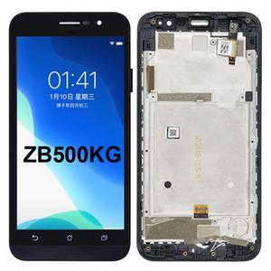 100% Probado Para Asus Zenfone Ir ZB500KG LCD de pantalla táctil de repuesto digitalizador Asamblea repuestos mayorista