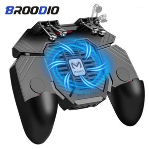 PUBG Controller AK77 Six Finger Gamepad For Android PUBG Mobile Controller L1 R1 Shooter Triggers Fire Joystick Game pad1