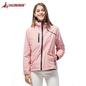 Casual Jacket Women Waterproof Spring Autumn Breathable Hooded Coat Outwear Raincoat Windbreaker Tourism Mountain Jacket Female