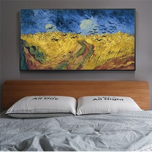 Canvas Painting Wall Posters and Prints world masterpiece HD Wall Art Pictures For Living Room Decoration Dining Restaurant Hotel Home Decor