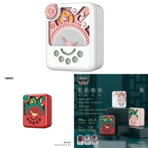UMR Bluetooth más nuevo jugador Dibujos animados Robot de dibujos animados Altavoz portátil Bluetooth Altavoces Estéreo Bluetooth Mini 5PCS Música Altavoces Power Bank