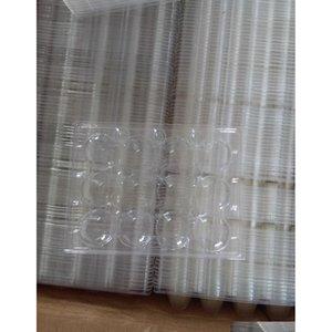1000pcs / lot 12 fori Quail Egg Container Pla Jllyxn Xhlight