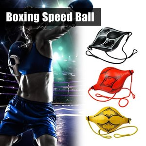 Sports muscle suspension equipment fitness boxing speed adult ball inflatable bag hitting bag PU leather double end sports room
