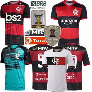 20 21 flamengo 9 GABRIEL B. Futebol 14 DE Arrascaeta 10 DIEGO VINICIUS JR GERSON 7 E.RIBEIRO 2021 Homens Football Shirt