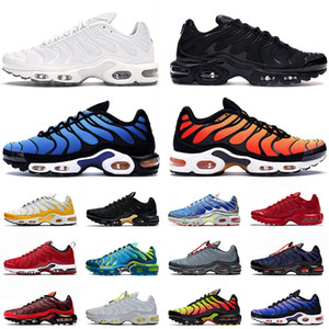 nike air max airmax tn plus se 2021 Nuovo TN di qualità più donne che fanno scarpe sportive Triple Black White Hyper Blue Wordwide Trainers Sneakers