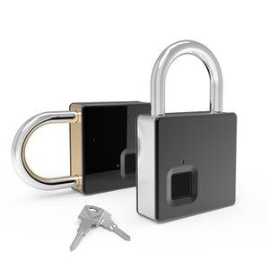 Fipilock الذكية قفل بدون مفتاح قفل بصمات الأصابع IP65 للماء مكافحة سرقة الأمن قفل الباب الأمتعة حالة قفل مع كابل كابل 201013