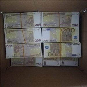EURO VENTE SIMULATION 200 PROPS POINTS BANKNOTES BANKNOTES 02 JOUEURS ENFANTS BANKNOTES DE BANKNOTES DE NOOMINATION EURO Jeu Hot DIY RWOGQ