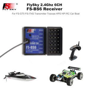 2020 FS-BS6 Receptor 2.4Ghz 6CH AFHDS2 para Flysky FS-GT5 FS-IT4S Transmissor RC Car Boat Parts