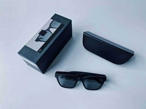Fashion Bluetooth Glasses Stylist Music Calls Wireless Bluetooth headset High Quality Qualcomm Chip Bluetooth Glasses Black Color