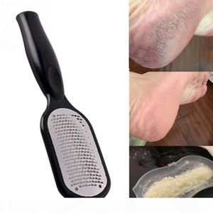 Pedicure Foot File Callus Remover Stainless Steel Foot Scraper Portable Rasp Colossal Foot Grater Scrubber Pro for Wet Dry Feet