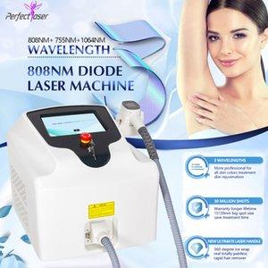 808nm diodi laser all'ingrosso depilazione trattamento laser viso macchine usate spa diodo laser 755 808 1064