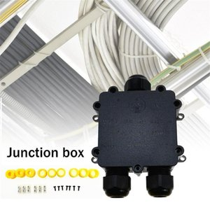 Waterproof Junction Box IP68 UV Sunproof Outdoor Multiple Ways Plastic Electrical Junction Box Case Cable Wire Connector Protect1