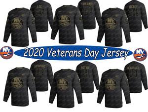 New York Islanders 2020 Salute a Service Jerseys Mathew Barzal Anders Lee Anthony Beauvillier Matt Martin Brock Nelson Oliver Wahlstrom