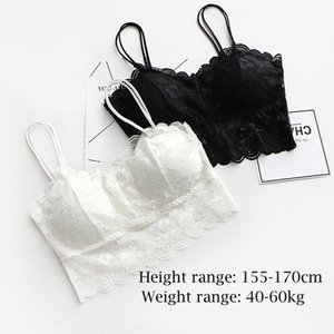 Hot sexy women bra Summer 2020 fashion Sheer Lace floral Bralette Bras Girls Strappy lingerie bra underwear sweet wire free1