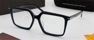 New Fashion Design Occhiali da prescrizione ottica 5689-B Square Square Spectacle Frame Stile semplice ed elegante Stile Business Style Lente HD di alta qualità