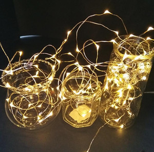 Led copper wire small color lamp string lamp sky full of stars romantic room decoration copper wire star lamp outdoor waterproof suitable fo