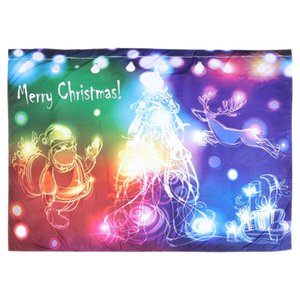 1pc Christmas Wall Tapestry Background Wall Cloth Wall Decorative Hanging Cloth 1pc Christmas Best Cotton sqcuxh sports2010