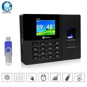 Realend 2.8inch Biometric Fingerprint Present Time Time Orologio Sistema di gestione elettronico RFID Reader Password Device1