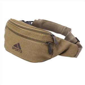 waist bag New Arrive Durable Men Fanny Waist Pack Belt Hip Bum Military Bag Pouch Drop Shipping