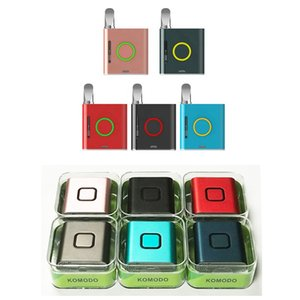 100% Original Vmod I II Battery 900mAh Vapmod For 510 Thread Atomizer Cartridge Ceramic Coil Vape Box Mod