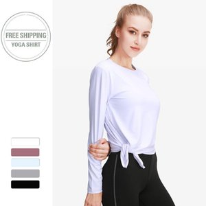 sports tops gym women long sleeve Running T Shirt Quick Dry Fitness workout Jogging Jogger Breathable Exercises Female Top 2020