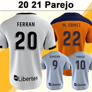NCAA 20 21 PAREJO GAMEIRO Mens Soccer Jerseys M. GOMEZ GUEDES RODRIGO M. FERRAN MANU Home White Away 3rd Football Shirt Camisetas de futbol