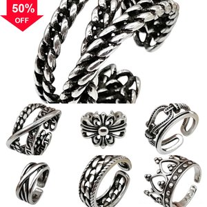 nAX1e s The Fast and Steampunk cross bracelet Furious Crystal ring Cross Cross Men Necklaces Pendants Silver Color gold Maxi collares Vintag