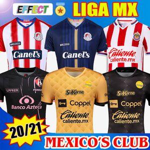 Tayland 2020 2021 JERSEY SINALOADE SINALOA İç Saha Futbol Formaları 20/21 Chivas ATLAS San Luis LIGA MX Futbol Formaları Soccer Jerseys