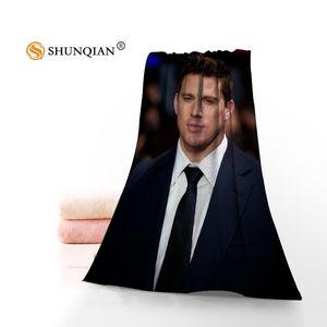 Channing Tatum Towels Microfiber Bath Towels TravelBeachFace Towel Custom Creative Towel Size 35X75cm And 70X140cm A9.25
