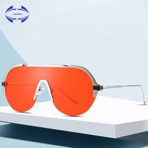 Punk Lens Uv400 Sunglasses Femmes Designer VCKA Lunettes VCKA HOLOGHANT SUN GRAND GRADIENT SUIME SIAME SHOEWEAIRE SHORES DE MODE KNHFT