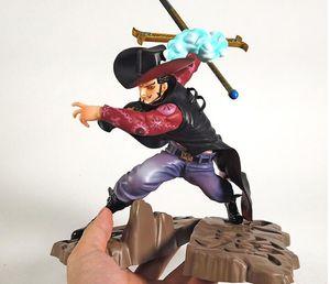 One Piece Dracule Mihawk bataille Ver. GK Statue PVC