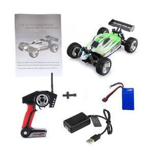 WLtoys A959B 2.4G 1 18 Full Proportional Remote Control 4WD Vehicle 70KM h High Speed Electric RTR Off-road Buggy RC Car