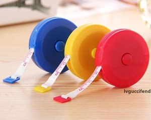 New Retractable Body Measuring Ruler Sewing Cloth Tailor Tape Measure Soft 60 150cm Craft Tools Home Room Decor Gadgets DHL