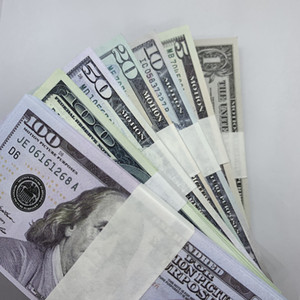 Banknote 50 Gift Dollar La-013 Collection 10 Play 100 20 Money Fake Prop Billet Counterfeit Children 5 1 Ticket Toy Cstom Fwdgk