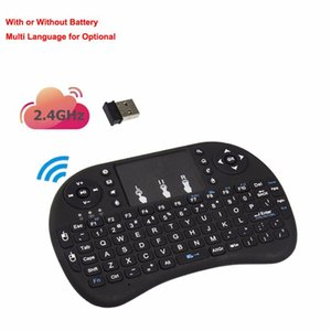 2020 New i8 Air-Mouse Touchpad Tv-Box Remote-Control English Backlit Mini 2.4Ghz Wireless Keyboard Gaming Tablet Keyboard